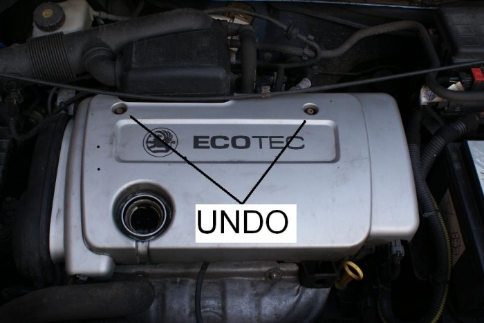 Throttle Body remove - Zafira Maintenance